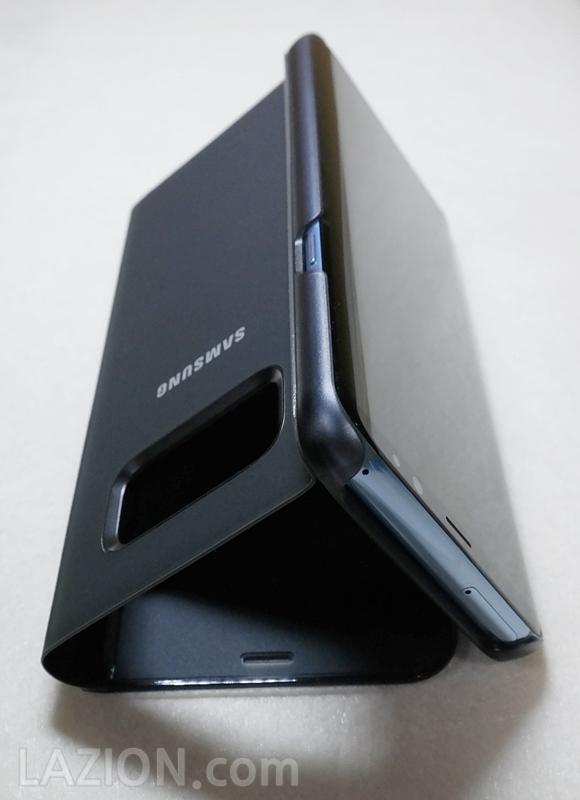 갤럭시 S8+를 위한 삼성 클리어뷰 커버, 아쉬운 건 케이스가 아니었다