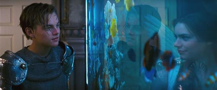 로미오와 줄리엣, 로미오와 줄리엣 1996, 로미오, 줄리엣, 레오나르도 디카프리오, 클레어 데인즈, 레오나르도 디카프리오 클레어 데인즈, 태은 커플
