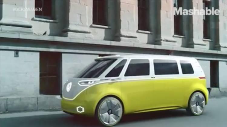 폭스바겐, 전기차, 전기자동차, 컨셉카, 마이크로버스, microbus, 출시일