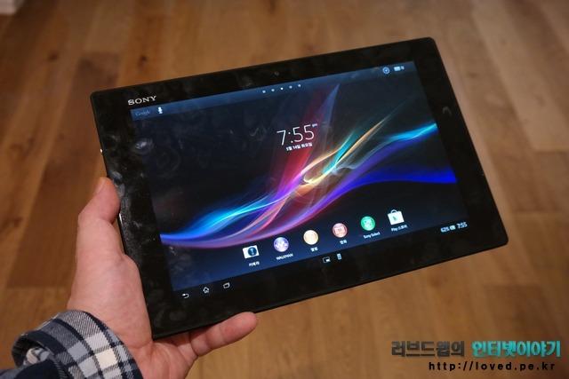 소니, 엑스페리아, 태블릿Z, 엑스페리아 태블릿Z, 태블릿PC, 태블릿