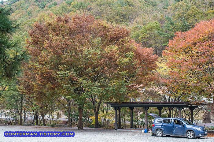 남이자연휴양림 오토캠핑장
