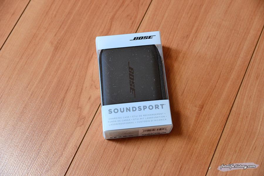 보스 사운드 스포츠 충전 케이스 리뷰 (Bose SoundSport charging case)