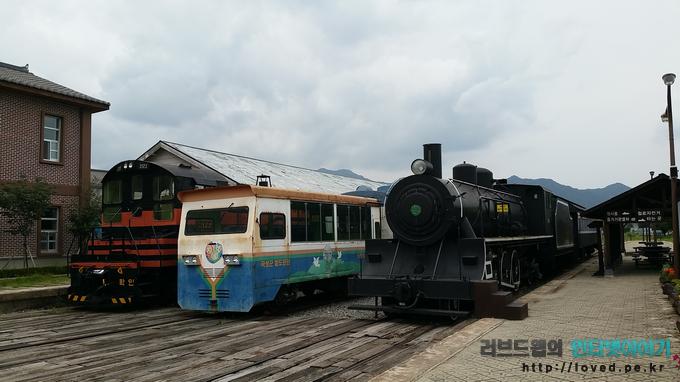 전시용 기차