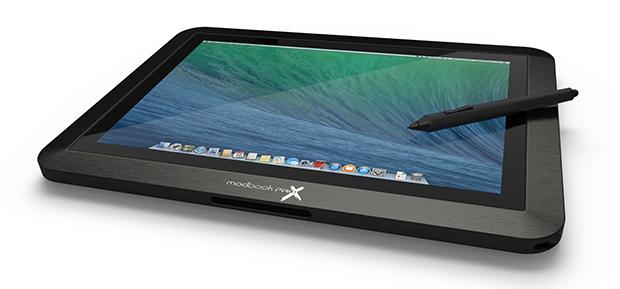 맥북 프로 레티나, 태블릿 PC로 변신하다? 모드북 프로 X 프로젝트가 한다!