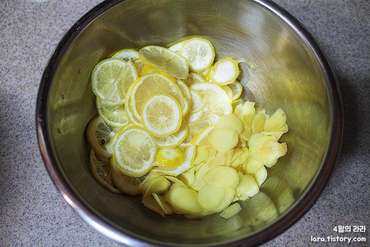 레몬생강차_감기에좋은차