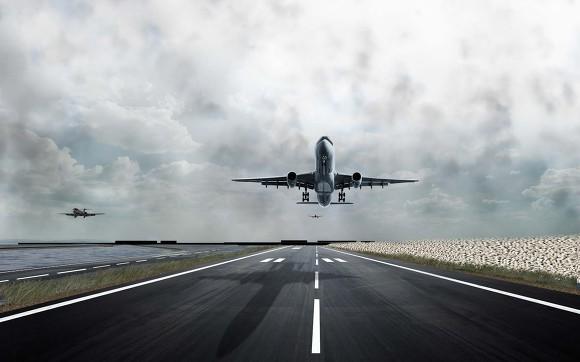 1086 Ih Blac And White : Aeropetit s aeronautics 길이에 따른 활주로 착륙대의 구분
