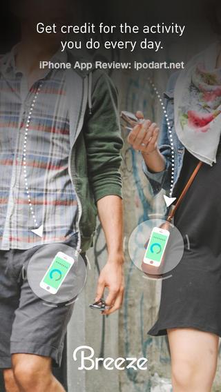 Breeze 아이폰 활동량 추적과 통계