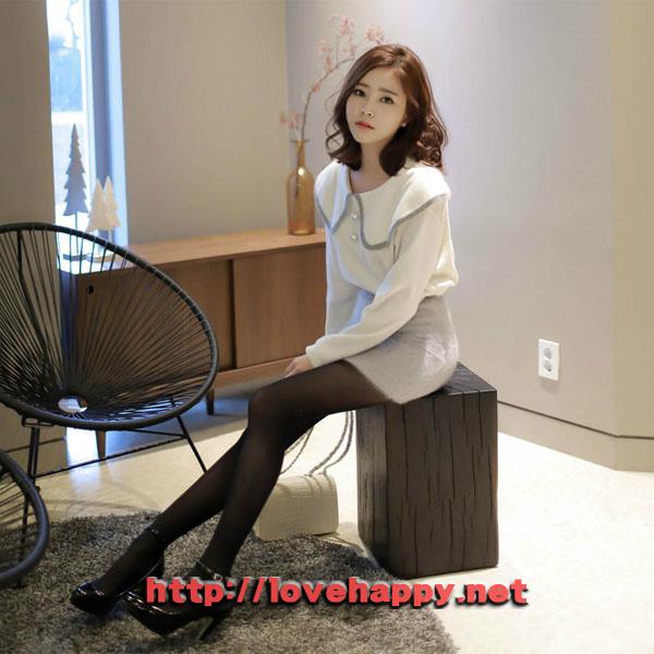 여성패션 티셔츠 앙고라 특유의 따스한 느낌 006