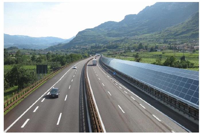 도로변 태양광 발전과 경제