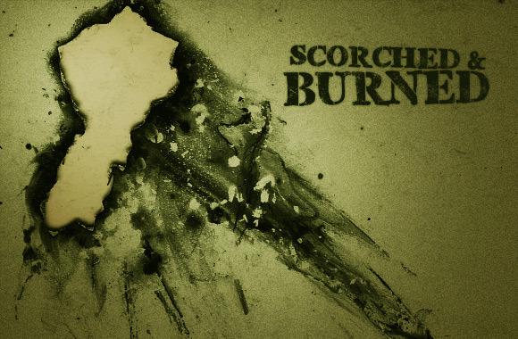 그을리거나 탄(scorched and burned) 효과를 주는 10 가지 포토샵 브러쉬 - 10 Free Scorched & Burned Photoshop Brushes