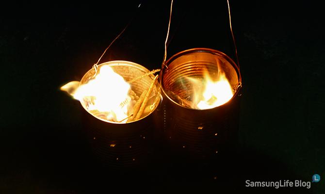 LED쥐불놀이