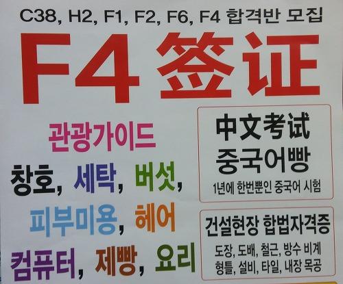 Виза f4 в Южную Корею для россиян