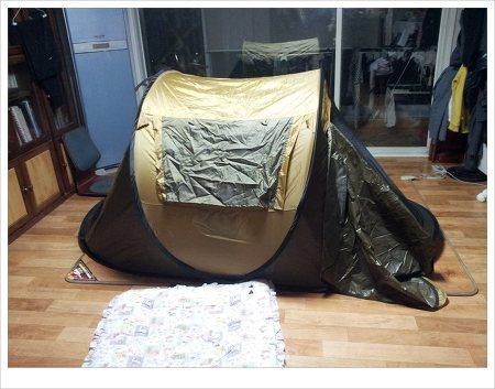 텐트_거실