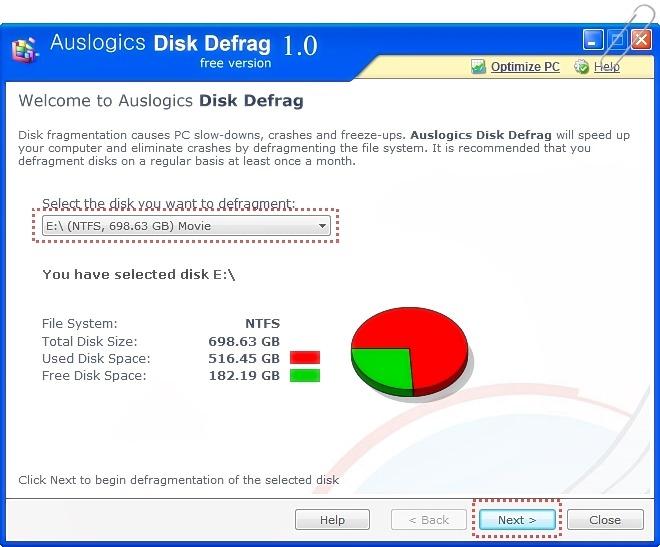 [유틸리뷰]정말 빠른 디스크조각모음 유틸 AusLogics Disk Defrag로 빠른 조각모음을 해보세요~