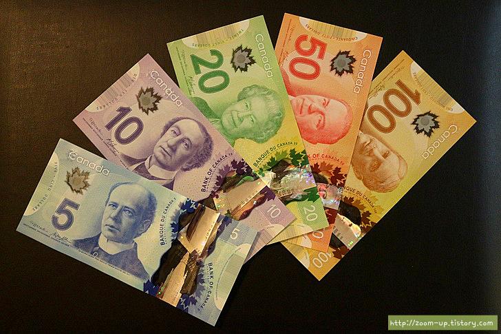캐나다 역사와 화폐 이야기