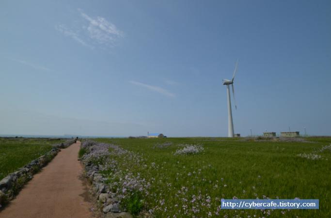 가파도 풍력발전기