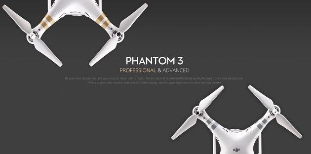 팬텀3는 프로페셔널 버전과 어드밴스 버전으로 출시되었습니다.