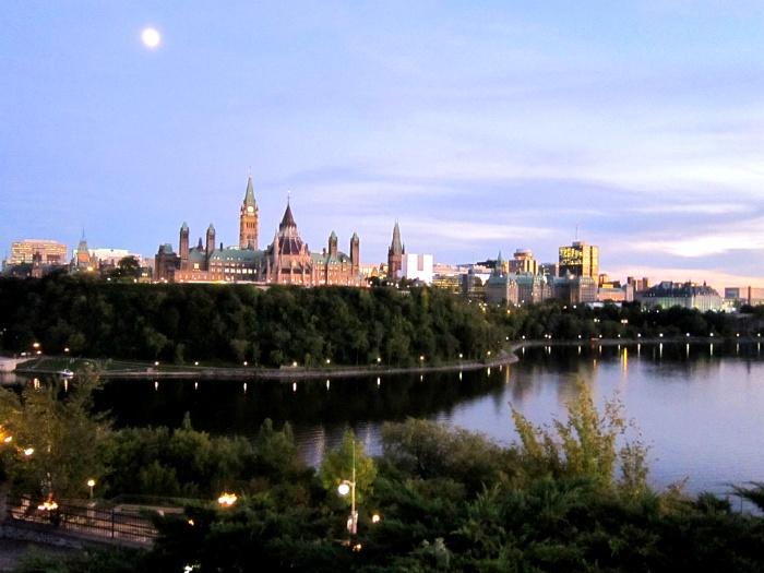 캐나다 오타와 니피안 포인트 Nepean Point in Ottawa, Canada