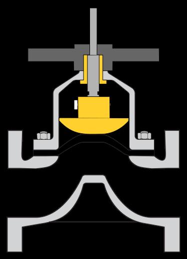 공학나라 기계 공학 기술정보 다이아프램 밸브 Diaphram Valve