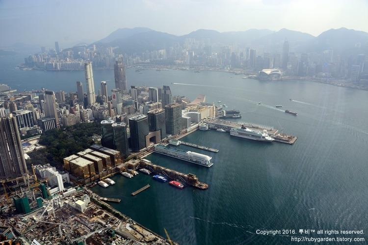 홍콩 여행 / 360도 파노라마로 보는 홍콩 전경 /스카이100 전망대( ICC빌딩 국제무역센터)
