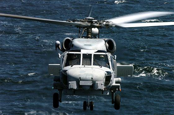 미해군 씨호크(Sea Hawk) MH-60 대잠 해상작전헬기
