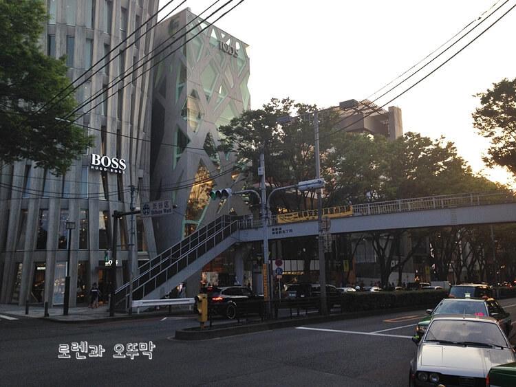 하라주쿠 오모테산도 쇼핑거리 걷기13