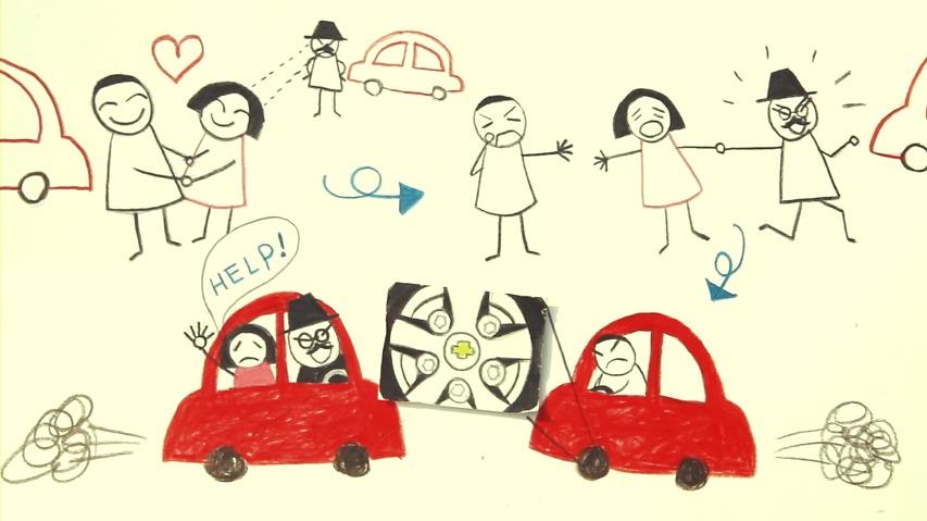 한예종 학생들이 제작한 쉐보레 크루즈의 2014 아카데미 시상식(오스카) 광고 - 스피드체이서/마스터피스(Speed Chaser/Masterpiece)편