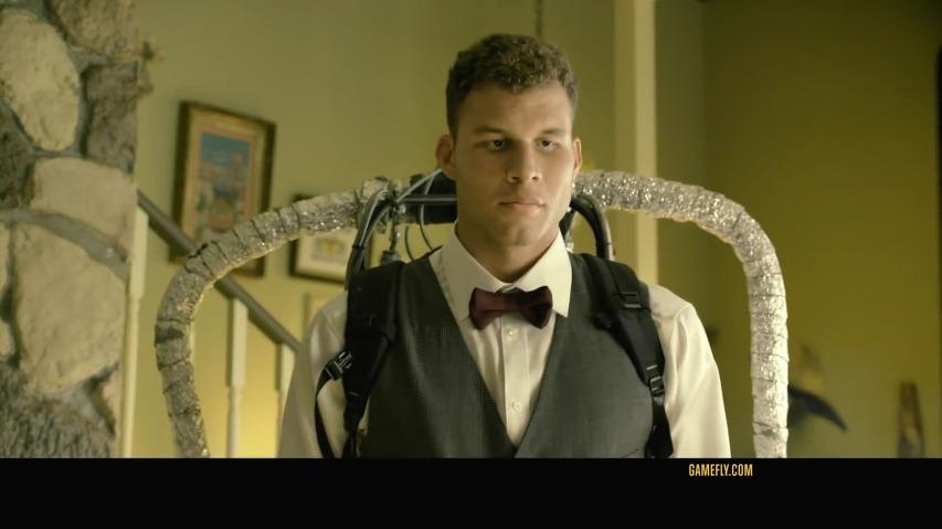 NBA스타 블레이크 그리핀(Blake Griffin)이 제트팩과 함께 TV에서 튀어나온다? - 게임플라이(GameFly)의 TV광고 '제트팩(Jet Pack)'편 [한글자막]