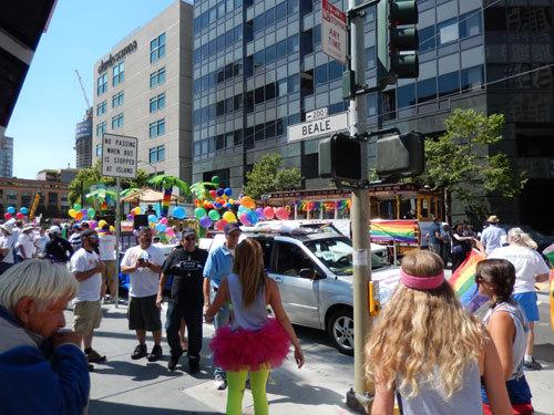 샌프란시스코 동성애 지지 퍼레이드