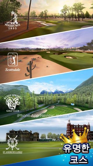 PGA TOUR 골프의 제왕 아이폰 아이패드 추천 골프 게임