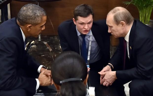 'IS와의 전쟁' 오바마-푸틴 손잡을 수있을까