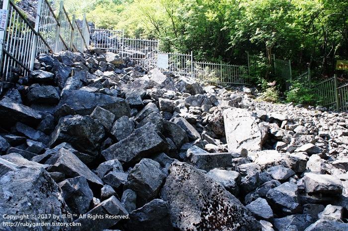 밀양 여행 / 밀양 남명리 얼음골(천연기념물 제224호)이 전해 주는 돌 이야기, 가마불폭포