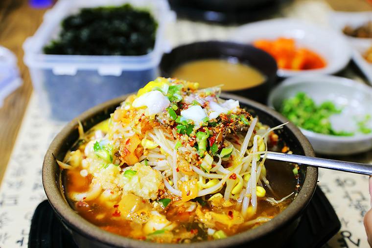 삼번집 콩나물국밥 전주맛집추천 전주삼번집