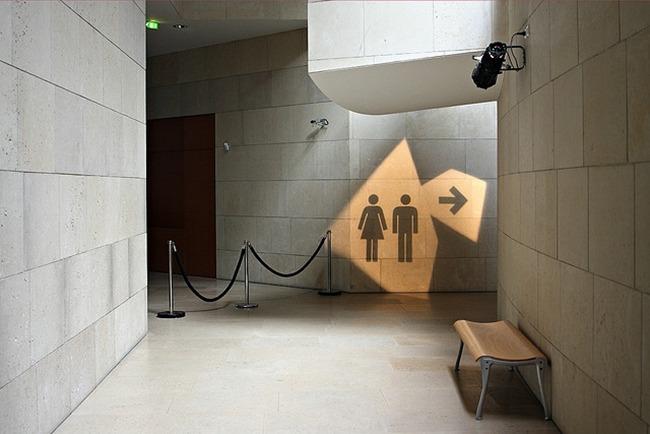 공중화장실, 해외여행 공중화장실