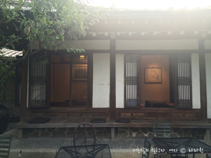 경인미술관 전통다원, 인사동 한옥 카페