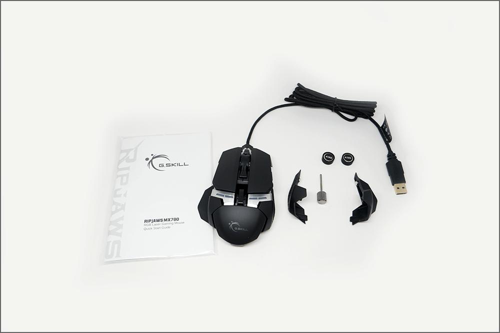 G.Skill MX780 RGB 게이밍 마우스 구성품 2