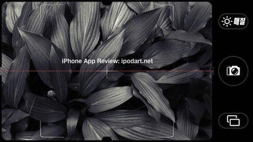 Camera Noir 아이폰 추천 흑백 사진 앱