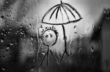 비온는 날