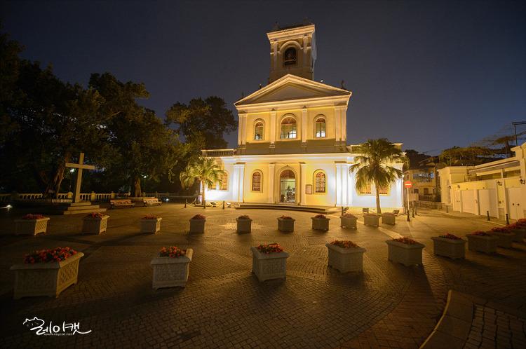 마카오 타이파 빌리지 까르엘성모 성당