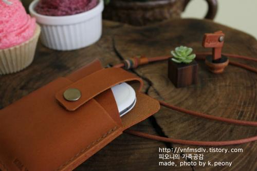 <주문제작>휴대용공유기 케이스~/피오니케이스 ver.2