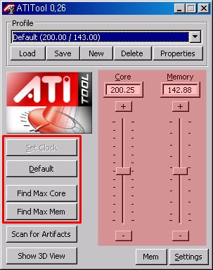 ATITool 그래픽카드 오버클럭킹 하는 방법