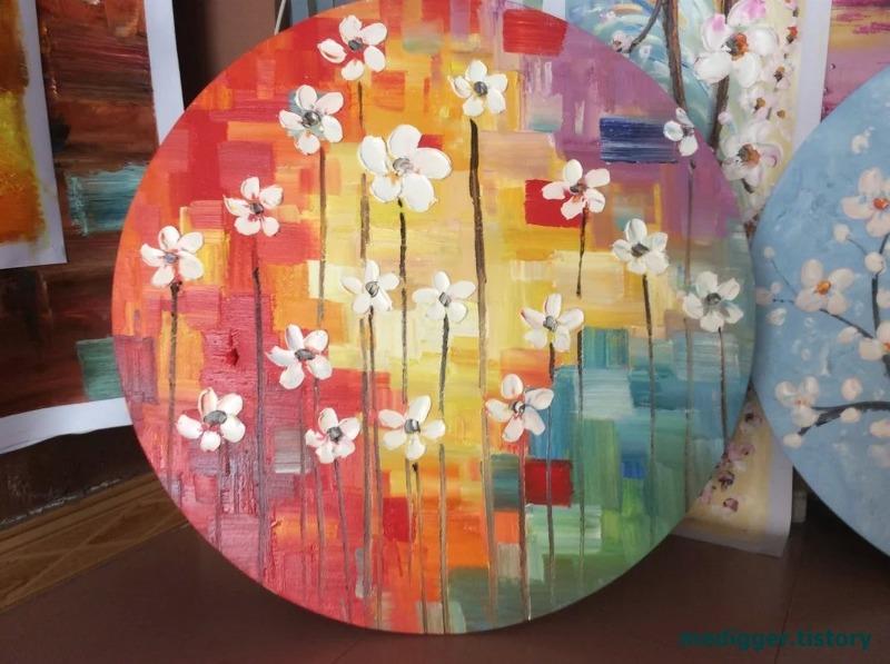 상하이 화랑 :: 현대미술회화/그림구하기/예쁜 꽃그림/예쁜 ...