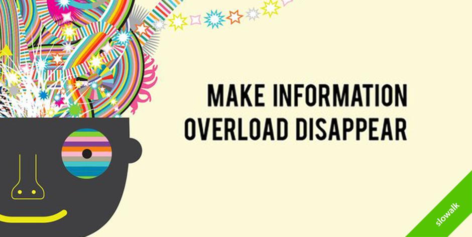 정보과잉으로 지친 나를 도와줄 5가지 방법