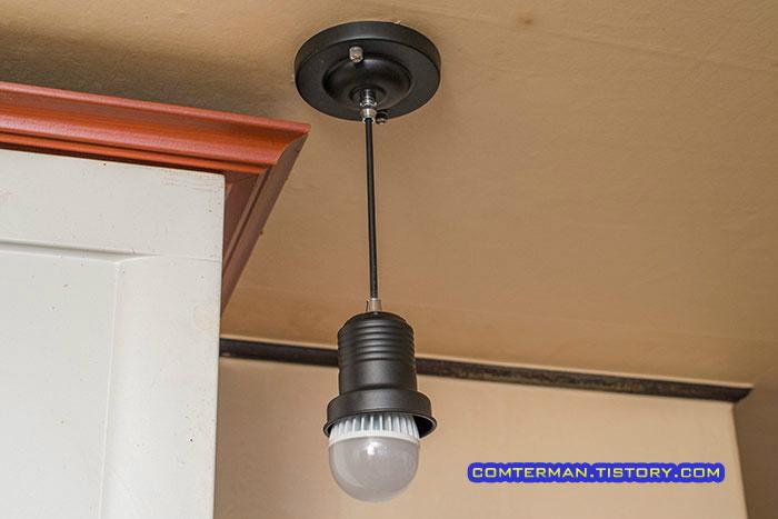 LED 전구 천장 등기구