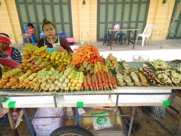태국 길거리 음식