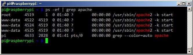 라즈베리파이 Raspberry Pi 아파치 웹서버 Apache Web Server 설치방법 리눅스 라즈비안 웹서버 구축