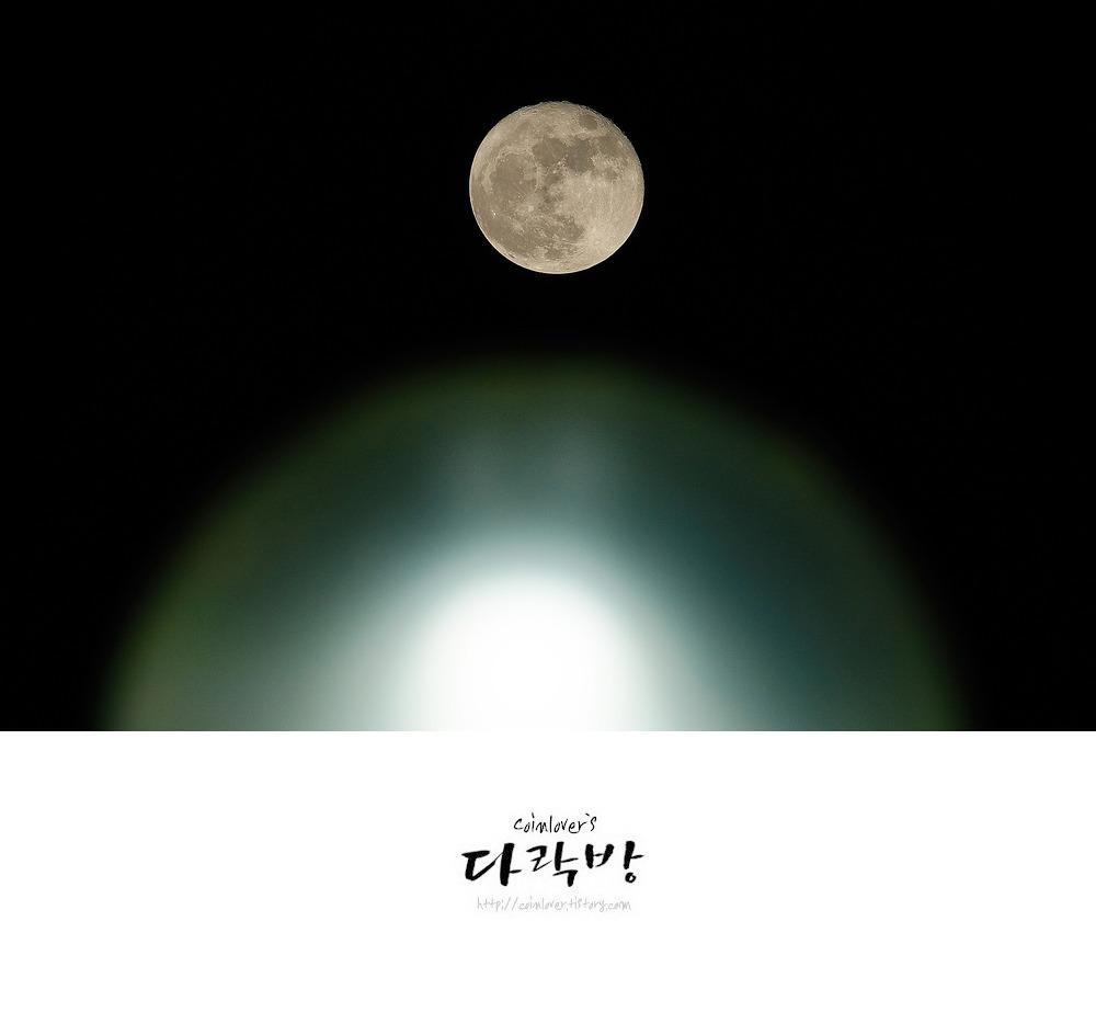 RX10M3 - 하루 늦은 슈퍼문