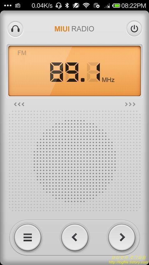 샤오미 Mi3 FM 라디오