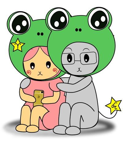 어린이 개구리