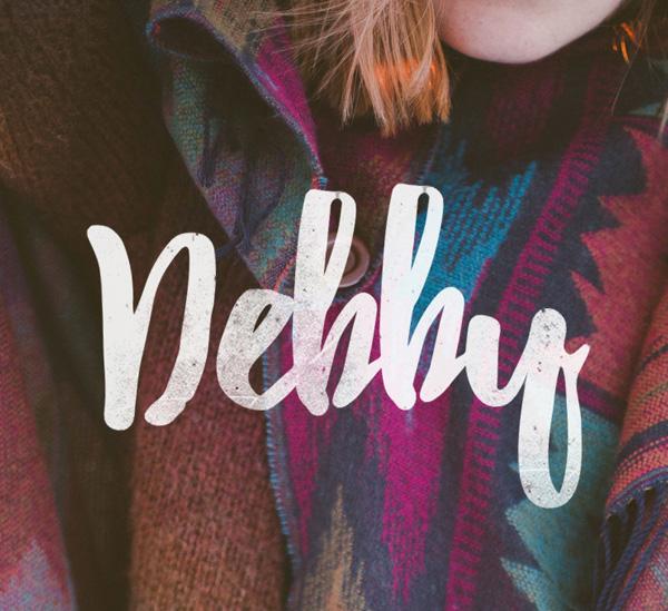 Debby – Free Brush Font
